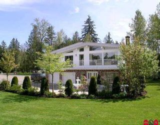 """Photo 1: 23110 16TH Ave in Langley: Campbell Valley House for sale in """"CAMPBELL VALLEY"""" : MLS®# F2603858"""