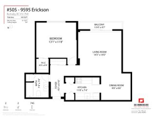 Photo 21: 505 9595 ERICKSON Drive in Burnaby: Sullivan Heights Condo for sale (Burnaby North)  : MLS®# R2621758