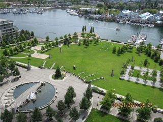 """Photo 8: 2106 583 BEACH Crescent in Vancouver: False Creek North Condo for sale in """"PARKWEST II"""" (Vancouver West)  : MLS®# V839365"""