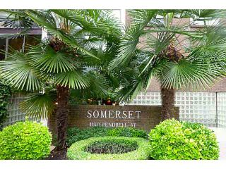 """Photo 1: 403 1140 PENDRELL Street in Vancouver: West End VW Condo for sale in """"The Somerset"""" (Vancouver West)  : MLS®# V1089764"""