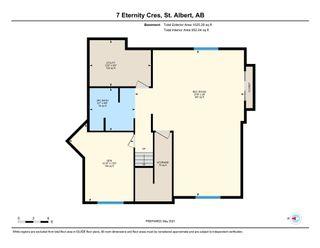Photo 49: 7 Eternity Crescent: St. Albert House for sale : MLS®# E4246580