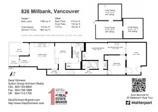 "Photo 8: 826 MILLBANK in Vancouver: False Creek Townhouse for sale in ""Heather Point"" (Vancouver West)  : MLS®# R2564481"