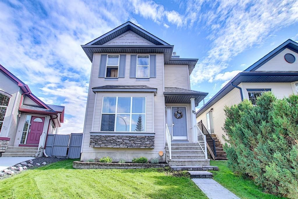 Main Photo: 83 Cranberry Square SE in Calgary: Cranston Detached for sale : MLS®# A1141216