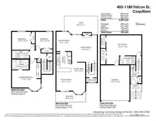 """Photo 20: 403 1180 FALCON Drive in Coquitlam: Eagle Ridge CQ Townhouse for sale in """"FALCON HEIGHTS"""" : MLS®# R2393090"""