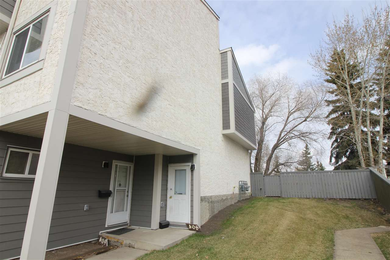 Main Photo: 408 WILLOW Court in Edmonton: Zone 20 Townhouse for sale : MLS®# E4241013