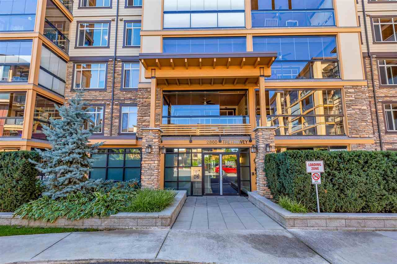 "Photo 1: Photos: 524 2860 TRETHEWEY Street in Abbotsford: Central Abbotsford Condo for sale in ""La Galleria"" : MLS®# R2525522"