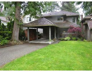Photo 1: 1051 CANYON Boulevard in North_Vancouver: Canyon Heights NV House for sale (North Vancouver)  : MLS®# V645020