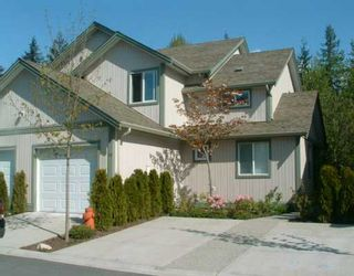 """Photo 1: 49 735 PARK RD in Gibsons: Gibsons & Area Townhouse for sale in """"sherwood grove"""" (Sunshine Coast)  : MLS®# V588554"""