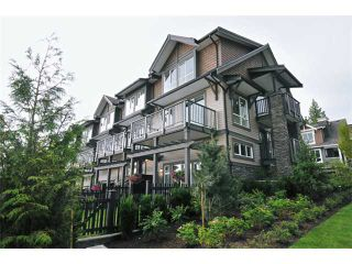"Photo 1: 117 1460 SOUTHVIEW Street in Coquitlam: Burke Mountain Townhouse for sale in ""CEDAR CREEK"" : MLS®# V901168"