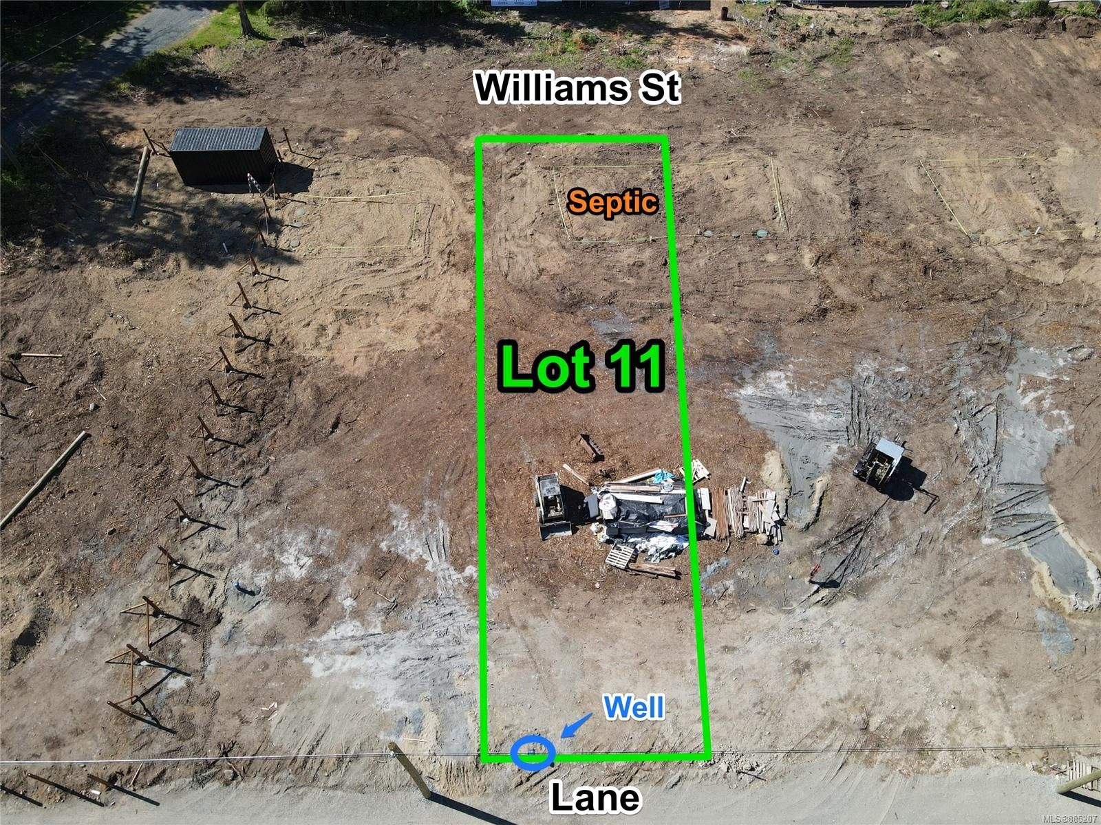 Main Photo: Lot 11 Williams St in : PQ Errington/Coombs/Hilliers Land for sale (Parksville/Qualicum)  : MLS®# 885207