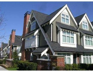 """Photo 1: 3858 WELWYN Street in Vancouver: Victoria VE Townhouse for sale in """"STORIES"""" (Vancouver East)  : MLS®# V774783"""