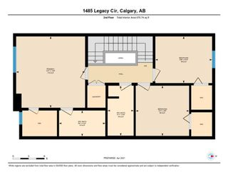 Photo 32: 1485 Legacy Circle SE in Calgary: Legacy Semi Detached for sale : MLS®# A1091996