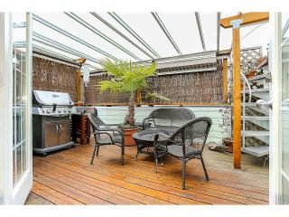 """Photo 6: 844 W 7TH AVE - LISTED BY SUTTON CENTRE REALTY in Vancouver: Fairview VW Townhouse for sale in """"WILLOW CASTLE"""" (Vancouver West)  : MLS®# V1106691"""