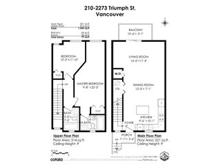 """Photo 31: 210 2273 TRIUMPH Street in Vancouver: Hastings Townhouse for sale in """"Triumph"""" (Vancouver East)  : MLS®# R2544386"""