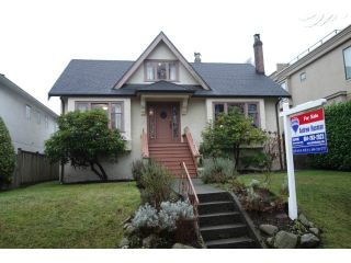 """Photo 1: 3866 W 15TH Avenue in Vancouver: Point Grey House for sale in """"Point Grey"""" (Vancouver West)  : MLS®# V1096152"""