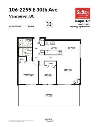 "Photo 13: 106 2299 E 30TH Avenue in Vancouver: Victoria VE Condo for sale in ""TWIN COURTS"" (Vancouver East)  : MLS®# R2490538"