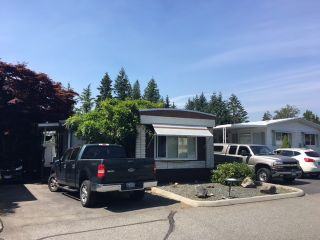 """Photo 1: 179 3665 244 Street in Langley: Otter District Manufactured Home for sale in """"LANGLEY GROVE ESTATES"""" : MLS®# R2189678"""