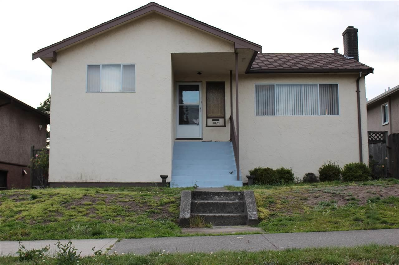 """Main Photo: 8021 ASH Street in Vancouver: Marpole House for sale in """"MARPOLE"""" (Vancouver West)  : MLS®# R2137460"""