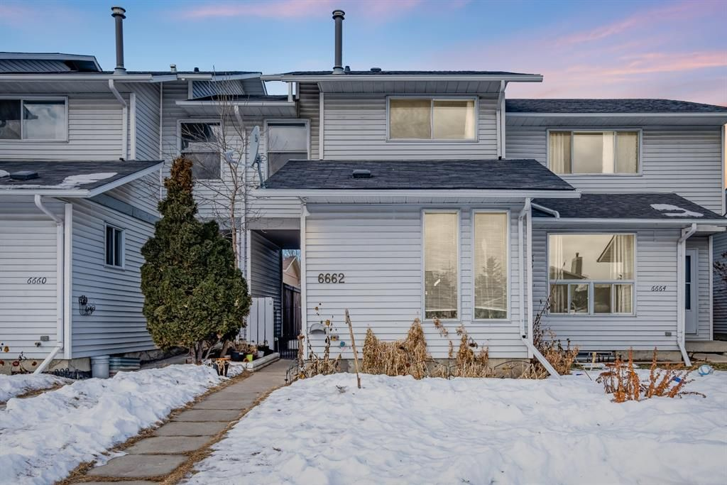 Main Photo: 6662 Temple Drive NE in Calgary: Temple Row/Townhouse for sale : MLS®# A1063811