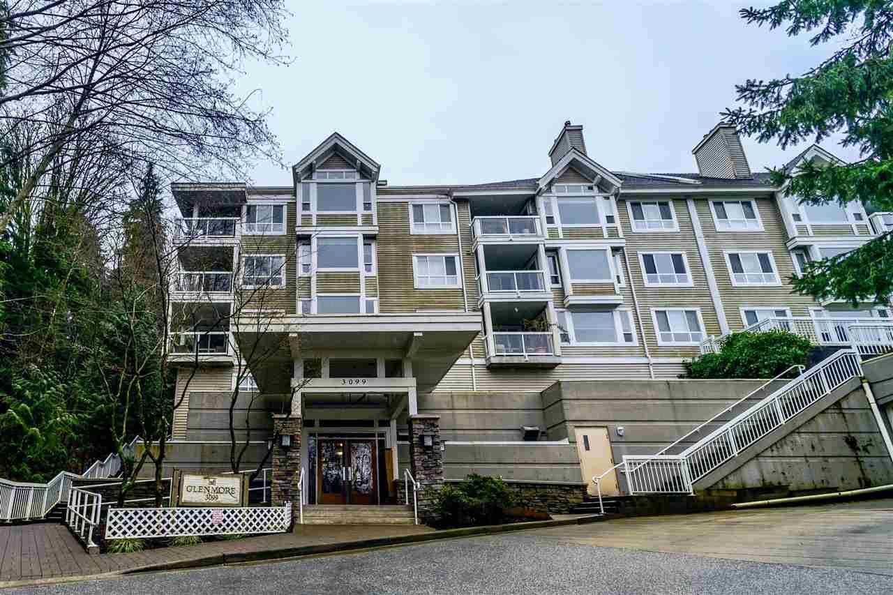 "Main Photo: 201 3099 TERRAVISTA Place in Port Moody: Port Moody Centre Condo for sale in ""THE GLENMORE"" : MLS®# R2236963"