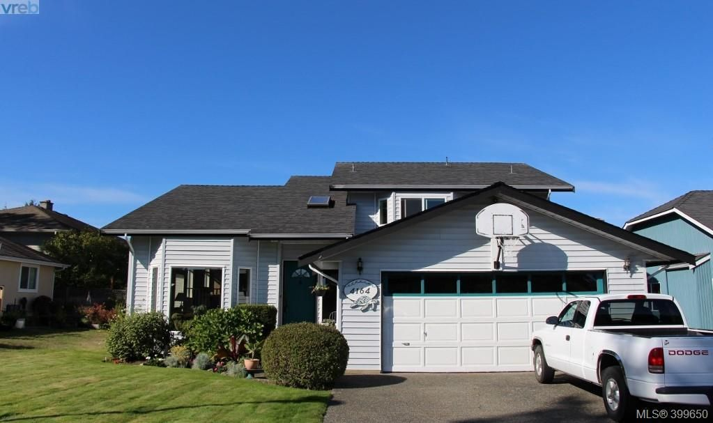 Main Photo: 4164 Beckwith Pl in VICTORIA: SE Lake Hill House for sale (Saanich East)  : MLS®# 797392