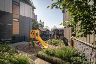 """Photo 20: 108 3525 CHANDLER Street in Coquitlam: Burke Mountain Townhouse for sale in """"WHISPER"""" : MLS®# R2409580"""