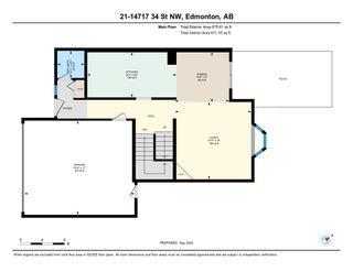 Photo 48: 21 14717 34 Street in Edmonton: Zone 35 House Half Duplex for sale : MLS®# E4234606