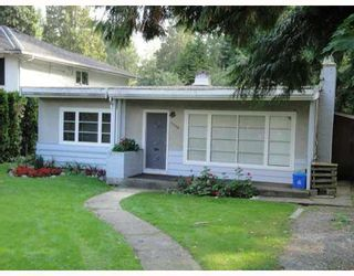 Photo 1: 4470 Capilano Road in NORTH VANCOUVER: Canyon Heights NV House for sale (North Vancouver)  : MLS®# V1119258