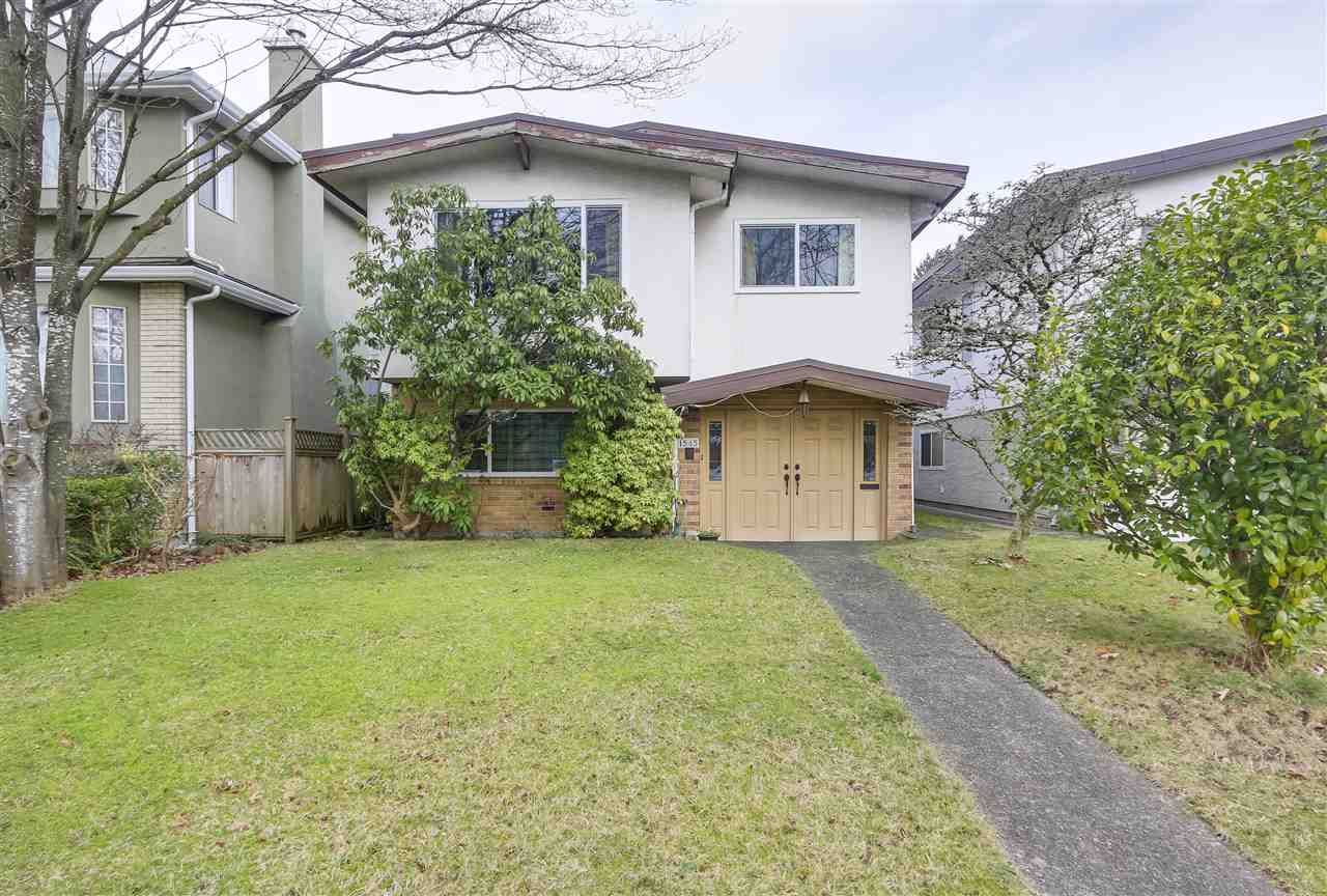 """Main Photo: 1545 W 63RD Avenue in Vancouver: South Granville House for sale in """"SOUTH GRANVILLE"""" (Vancouver West)  : MLS®# R2336321"""