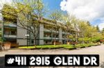 "Main Photo: 411 2915 GLEN Drive in Coquitlam: North Coquitlam Condo for sale in ""GLENBOROUGH"" : MLS®# R2579086"