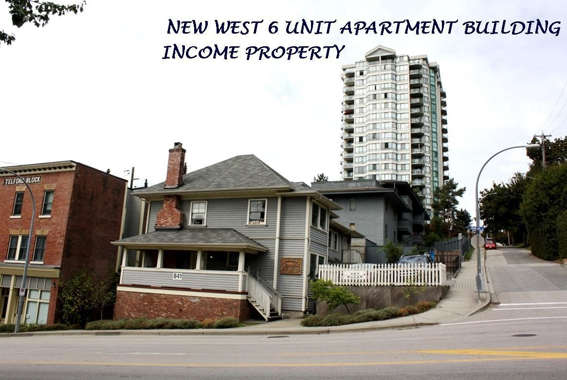 Main Photo: 841 ROYAL Avenue in New Westminster: Uptown NW Multi-Family Commercial for sale : MLS®# C8040176