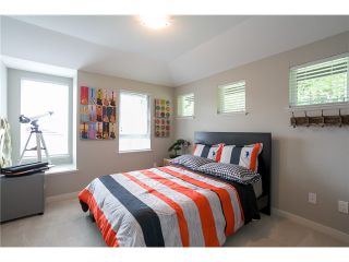 """Photo 16: 11 3431 GALLOWAY Avenue in Coquitlam: Burke Mountain Townhouse for sale in """"NORTHBROOK"""" : MLS®# V1069633"""