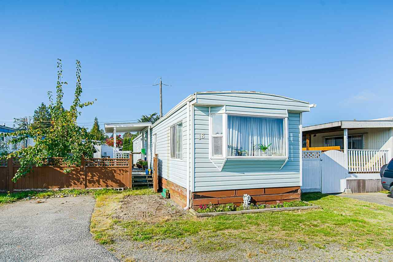 Main Photo: 18 26892 FRASER HIGHWAY in : Aldergrove Langley Manufactured Home for sale : MLS®# R2514023