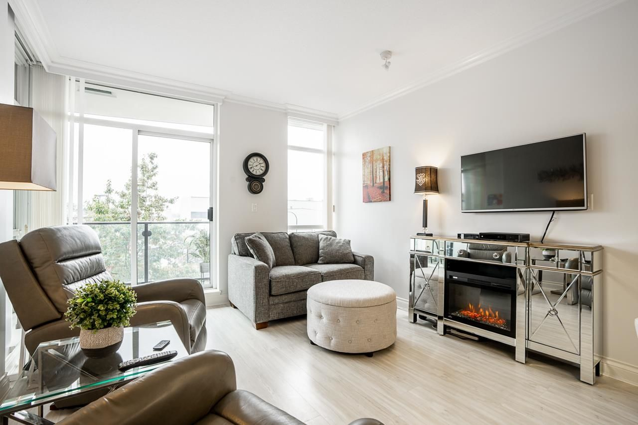 """Main Photo: 403 172 VICTORY SHIP Way in North Vancouver: Lower Lonsdale Condo for sale in """"Atrium"""" : MLS®# R2625786"""