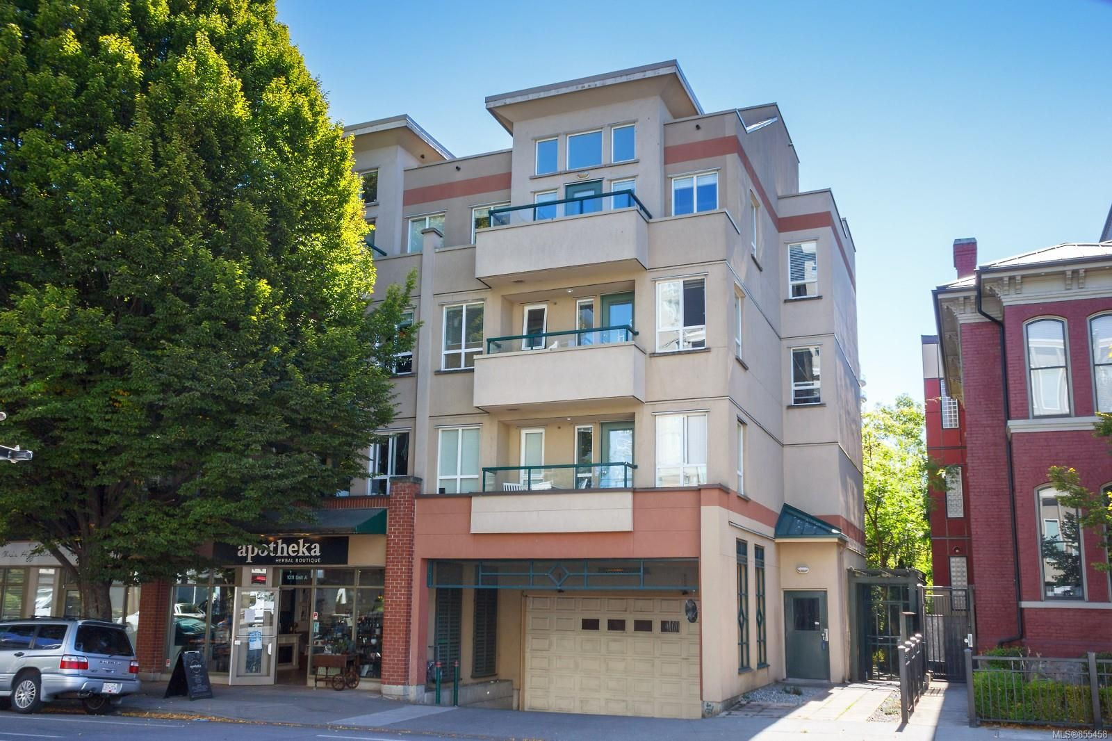 Main Photo: 201 1015 Johnson St in : Vi Downtown Condo for sale (Victoria)  : MLS®# 855458