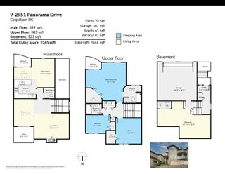 """Photo 35: 9 2951 PANORAMA Drive in Coquitlam: Westwood Plateau Townhouse for sale in """"STONEGATE ESTATES"""" : MLS®# R2622961"""