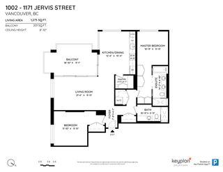 """Photo 24: 1002 1171 JERVIS Street in Vancouver: West End VW Condo for sale in """"THE JERVIS"""" (Vancouver West)  : MLS®# R2569240"""