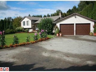 Photo 1: 35339 MCKEE Road in Abbotsford: Abbotsford East House for sale : MLS®# F1105297