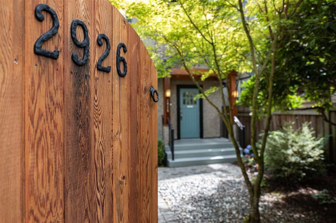 Main Photo: 2926 TRIMBLE Street in Vancouver: Point Grey House for sale (Vancouver West)  : MLS®# R2397526