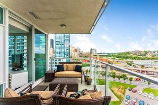 Photo 15: 1002 519 Riverfront Avenue SE in Calgary: Downtown East Village Apartment for sale : MLS®# A1125350