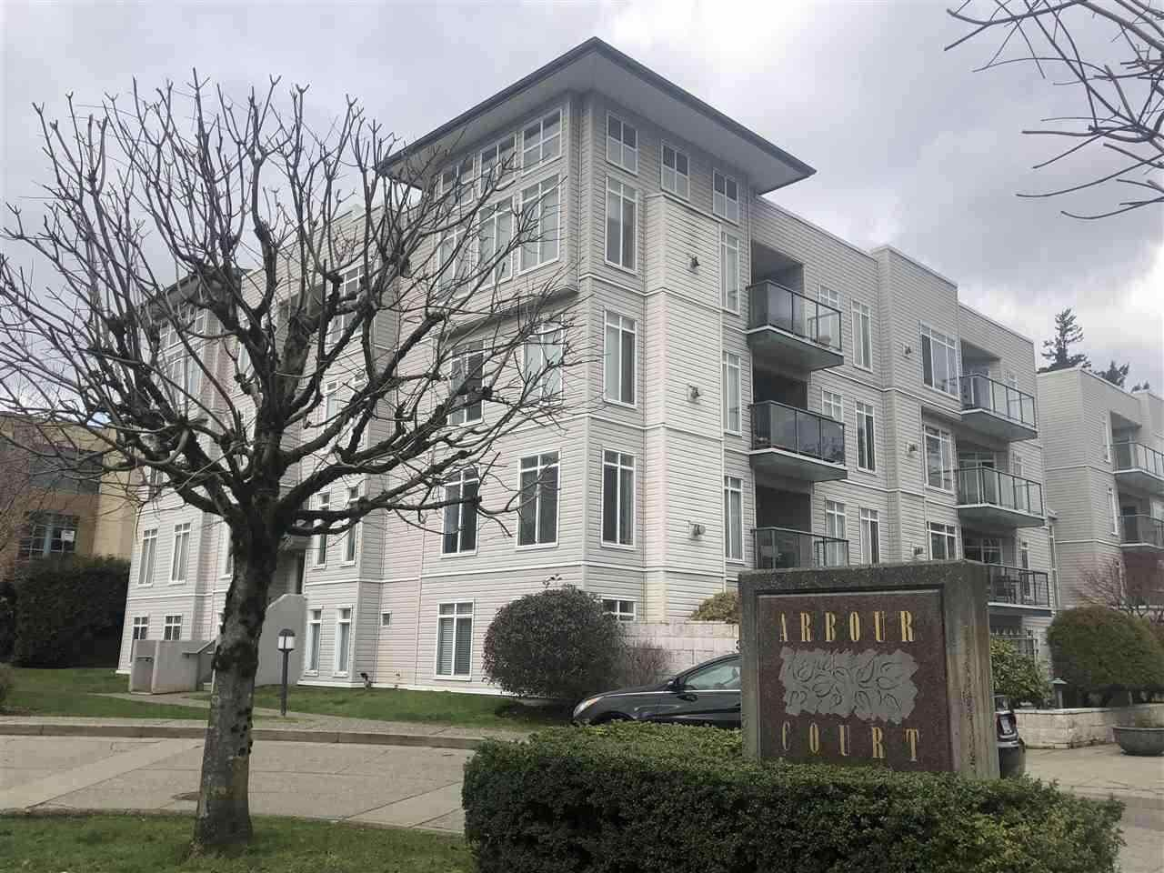 """Main Photo: 407 32075 GEROGE FERGUSON Way in Abbotsford: Abbotsford West Condo for sale in """"Arbour Court"""" : MLS®# R2572507"""