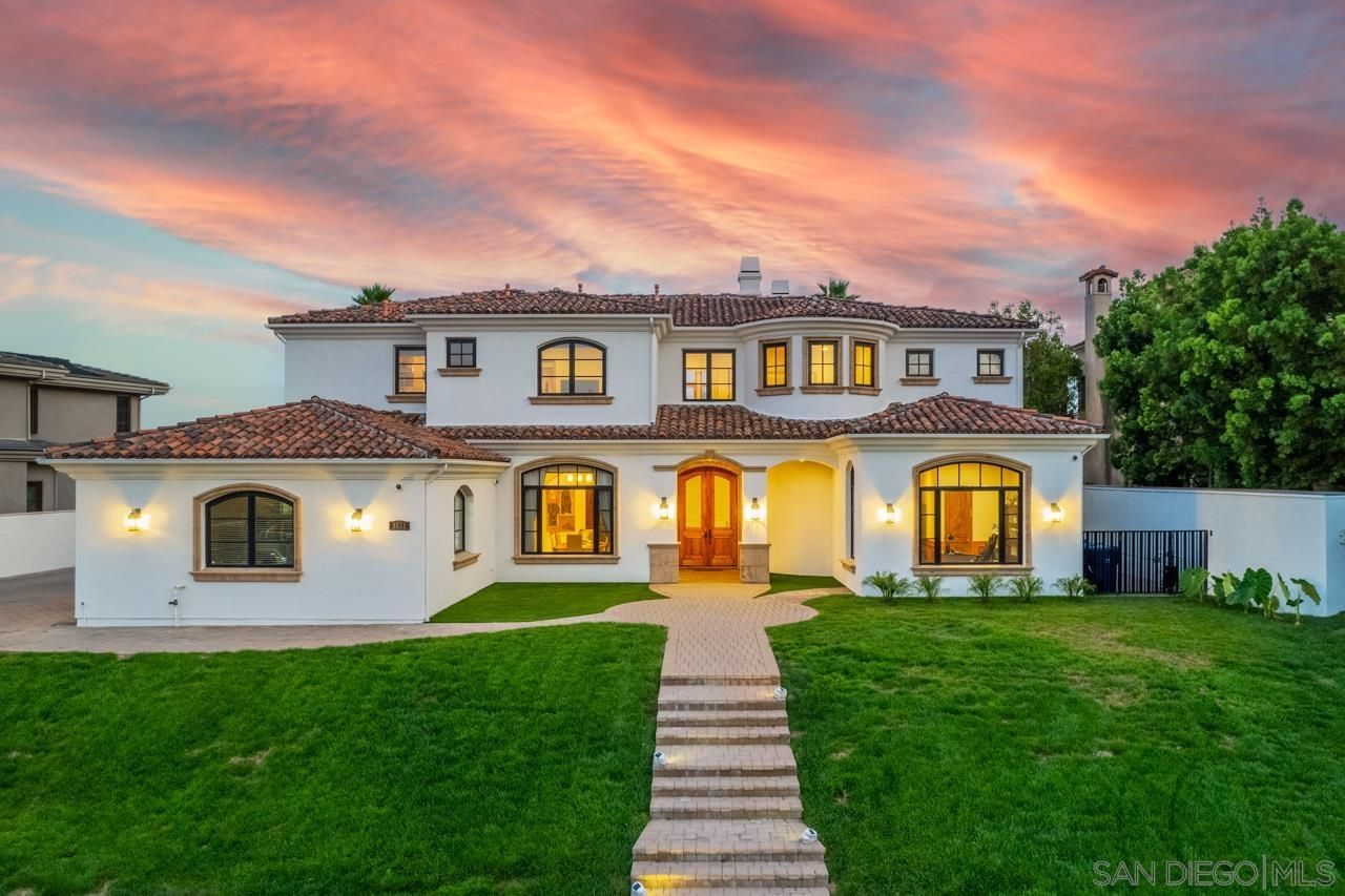 Main Photo: CARMEL VALLEY House for sale : 7 bedrooms : 5511 Meadows Del Mar in Camel Valley