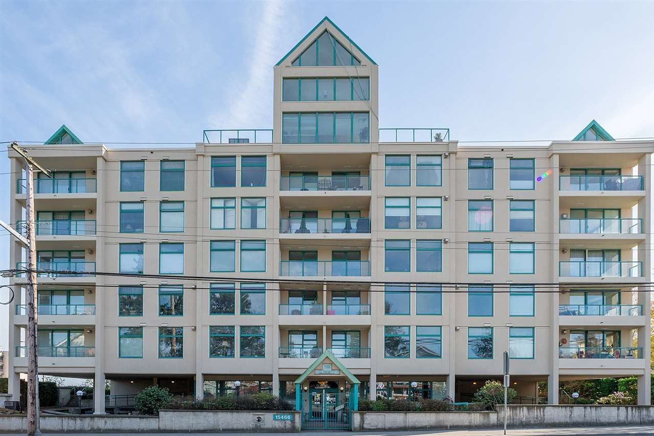 """Main Photo: 301 15466 NORTH BLUFF Road: White Rock Condo for sale in """"THE SUMMIT"""" (South Surrey White Rock)  : MLS®# R2273976"""