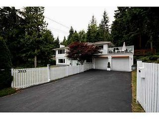 Photo 1: 3915 WESTRIDGE Ave in West Vancouver: Home for sale : MLS®# V1073723