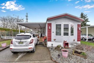 "Photo 1: 24 8670 156 Street in Surrey: Fleetwood Tynehead Manufactured Home for sale in ""Westwood Estates"" : MLS®# R2555399"