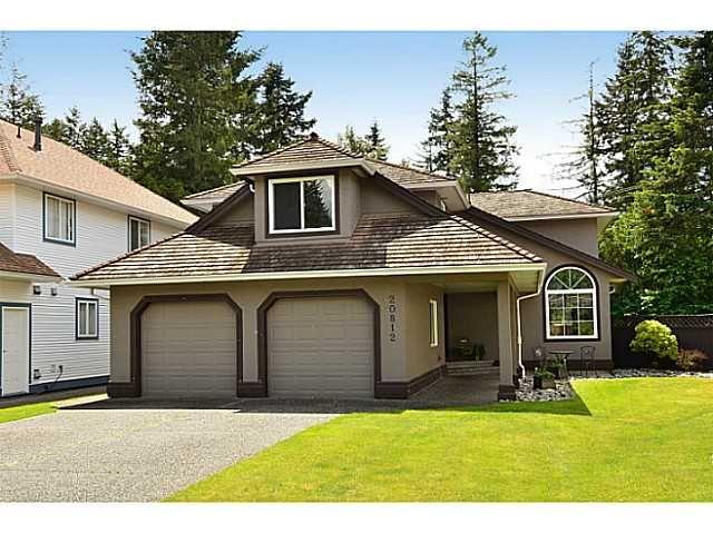 "Main Photo: 20812 43 Avenue in Langley: Brookswood Langley House for sale in ""Cedar Ridge"" : MLS®# F1413457"
