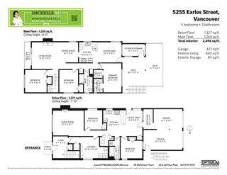 Photo 2: 5255 EARLES Street in Vancouver: Collingwood VE House for sale (Vancouver East)  : MLS®# R2590736