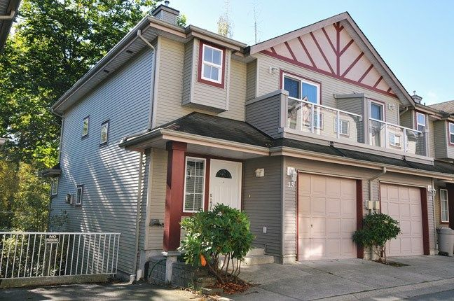 "Main Photo: 13 11229 232 Street in Maple Ridge: East Central Townhouse for sale in ""FOXFIELD"" : MLS®# R2064376"