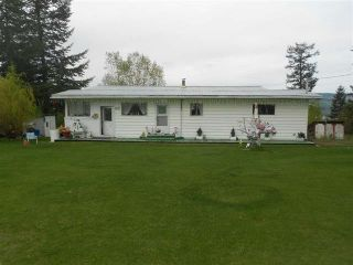 Main Photo: 8072 S 97 Highway in Quesnel: Quesnel Rural - South House for sale (Quesnel (Zone 28))  : MLS®# R2353450