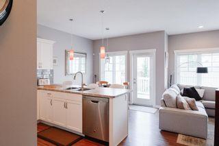 Photo 3: 4073 ALLAN Crescent in Edmonton: Zone 56 House Half Duplex for sale : MLS®# E4256367